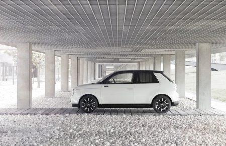 Freches Elektro-Auto: der Honda e