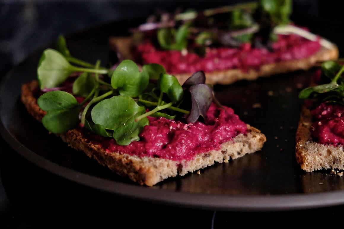 Rote Beete Sandwich