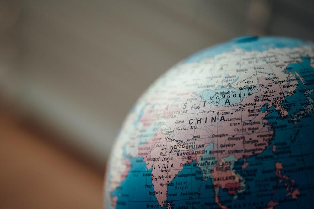 Welt Globus Corona