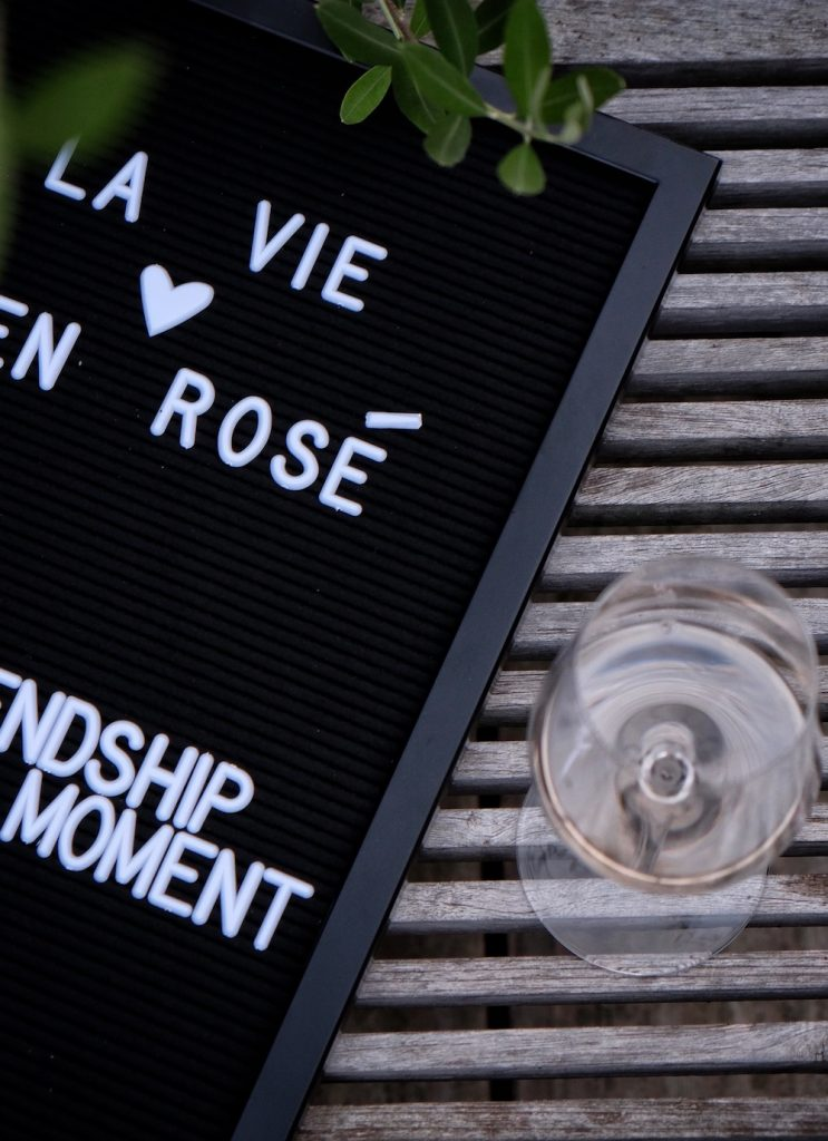 Wein Rose Provence