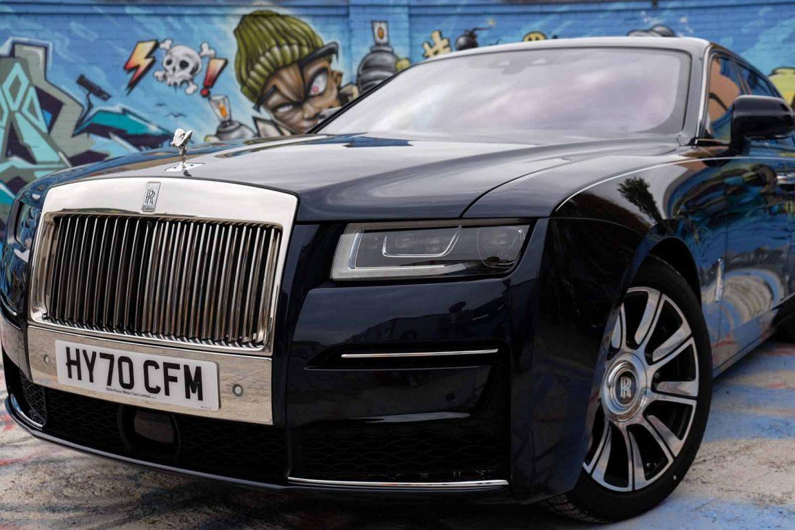Rolls_Royce Ghost Kuehler