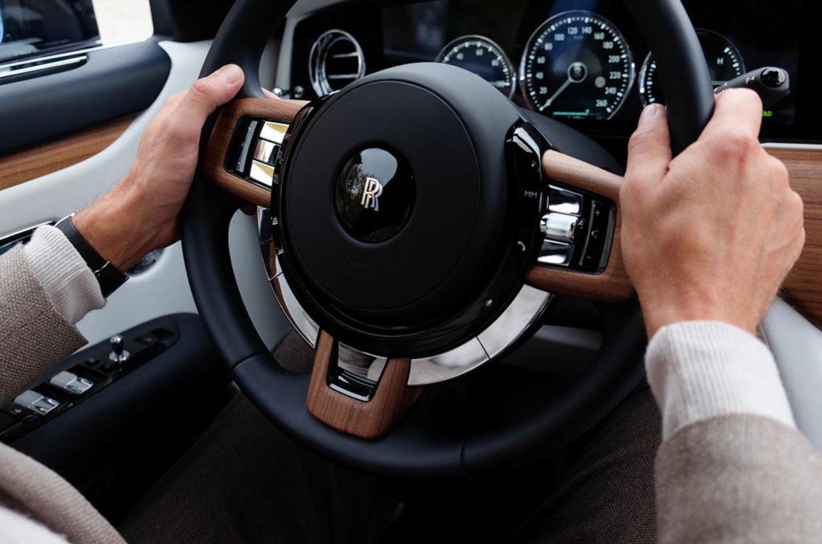 Rolls_Royce Ghost Lenkrad