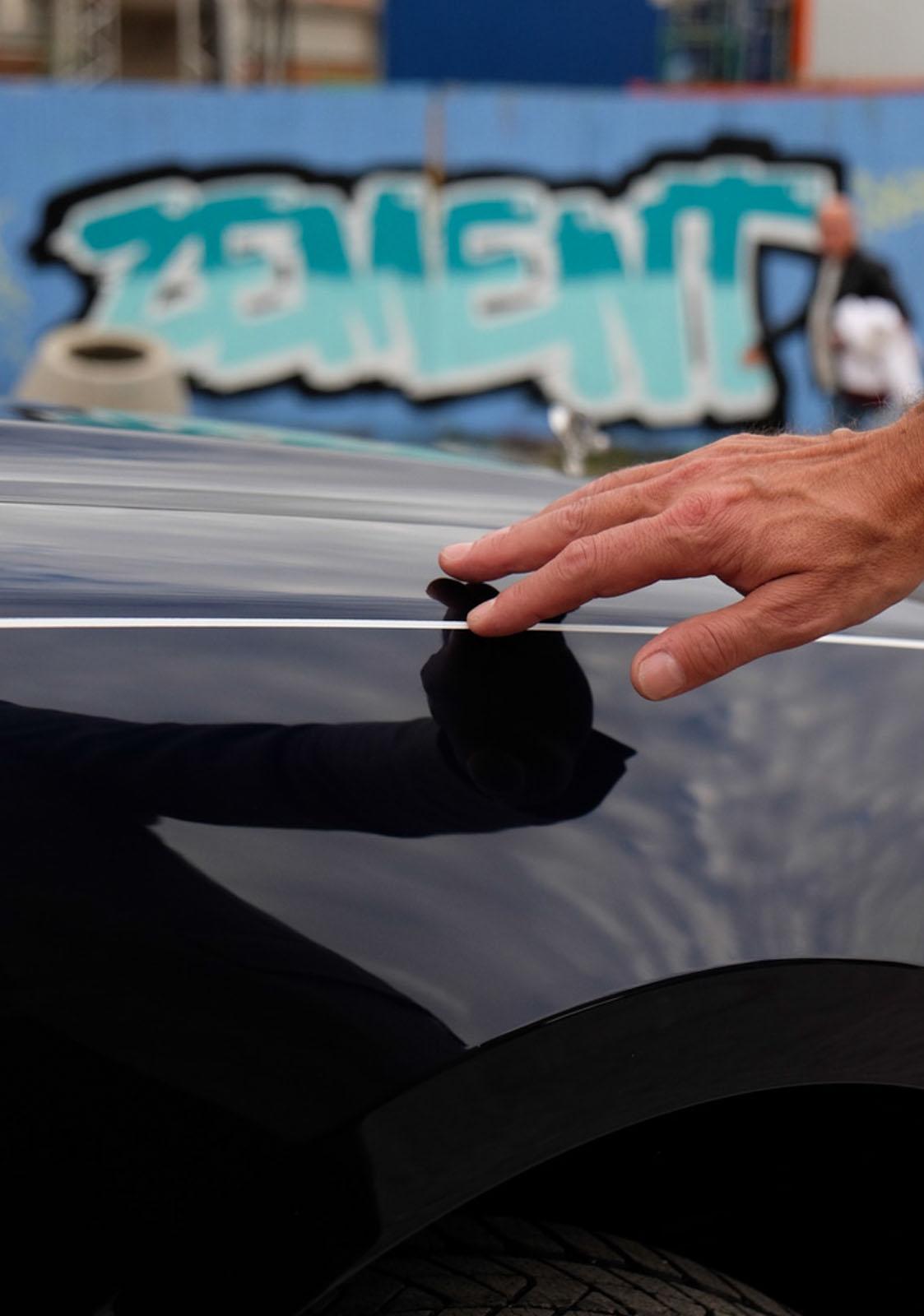 Rolls_Royce Ghost Zierlinie handgemalt