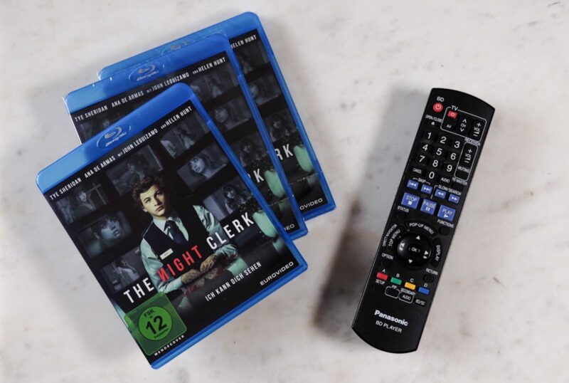 The Night Clerk DVD GewinnspielThe Night Clerk DVD Gewinnspiel