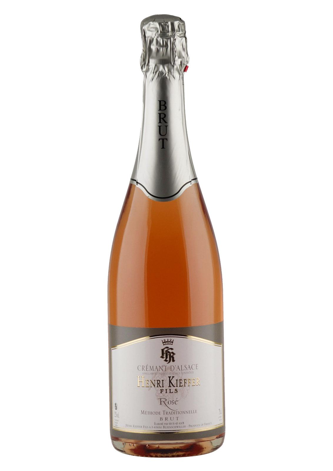 Kieffer Cremant Alsace Rose