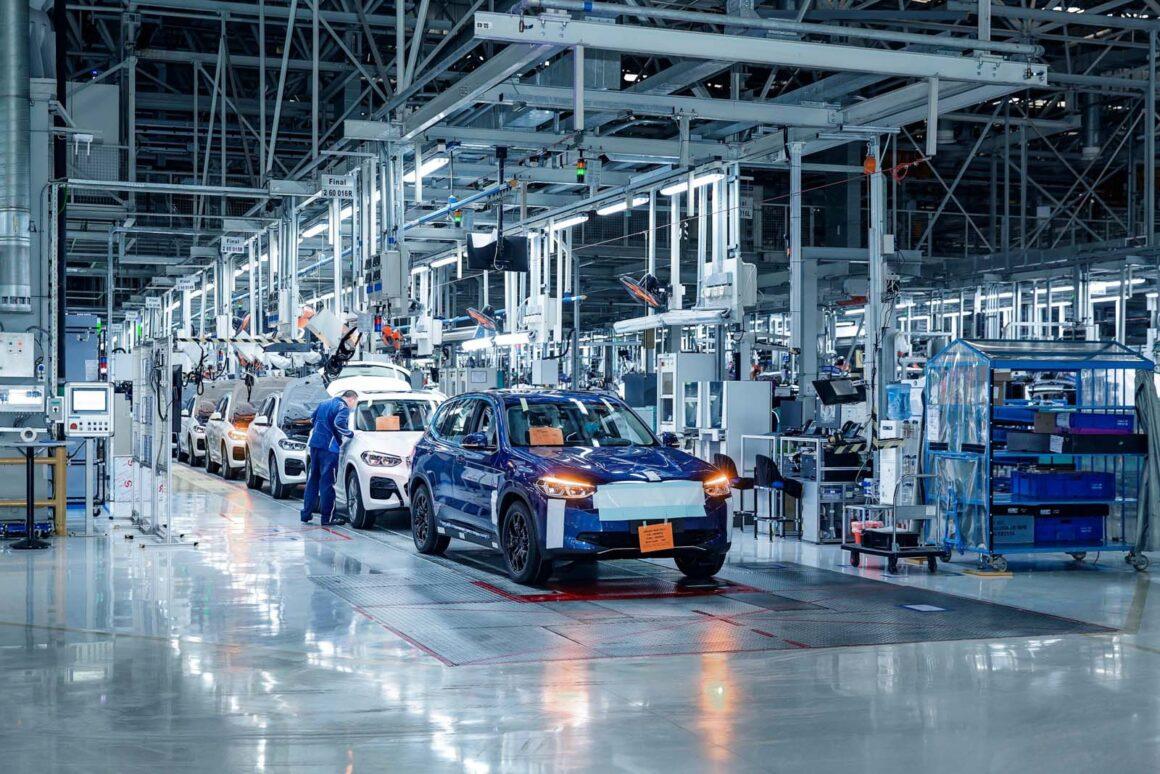 bmw produktion China