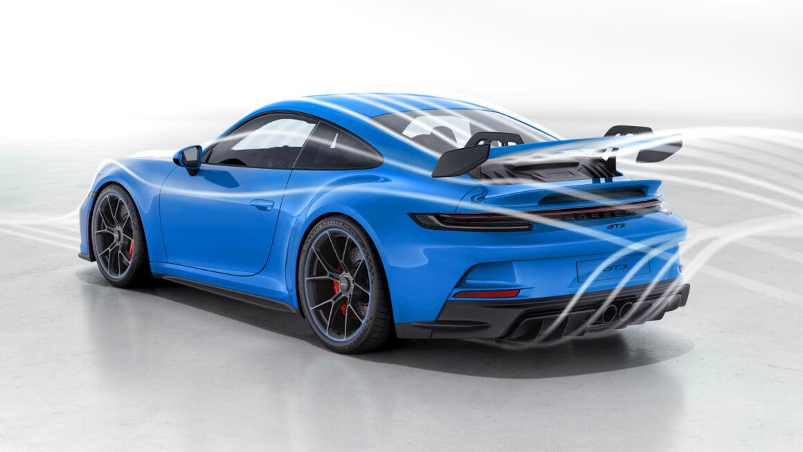 Porsche 911 GT3 Aerodynamik