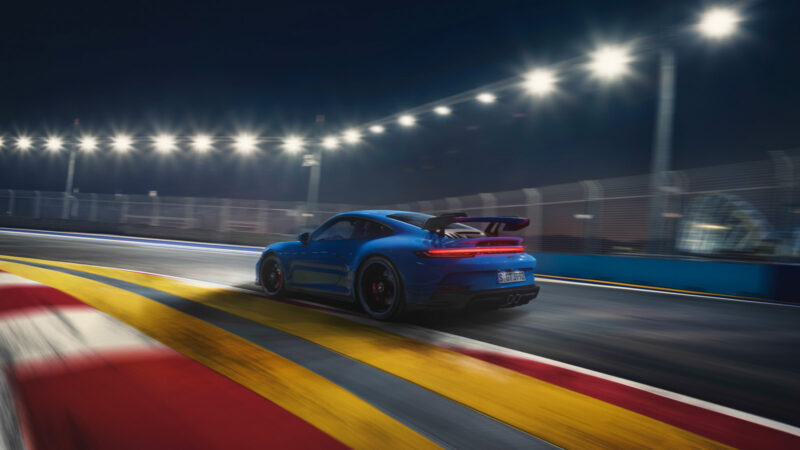 Porsche 911 GT3_Rennstrecke