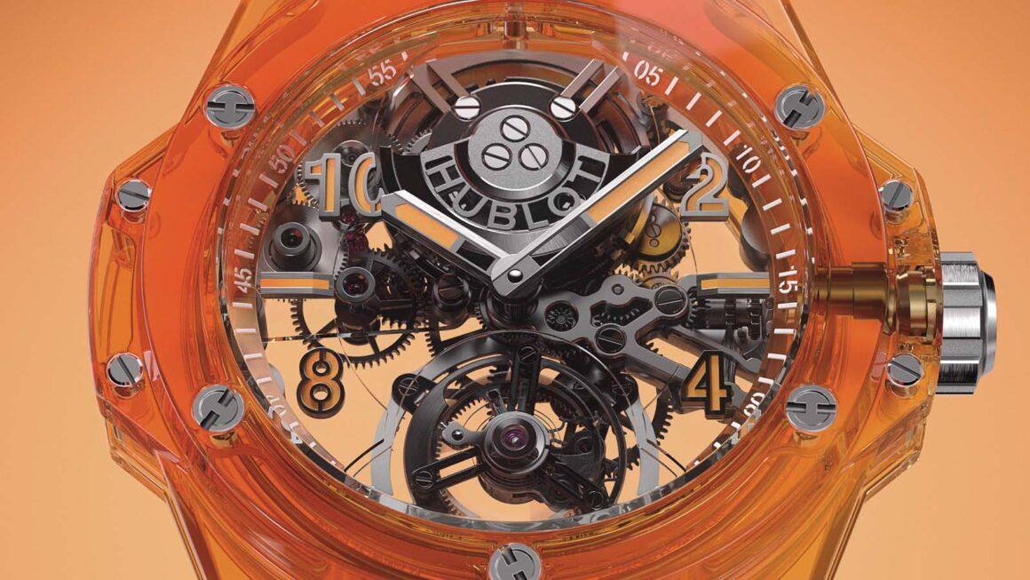 Big_Bang Tourbillon Automatic Orange Sapphire