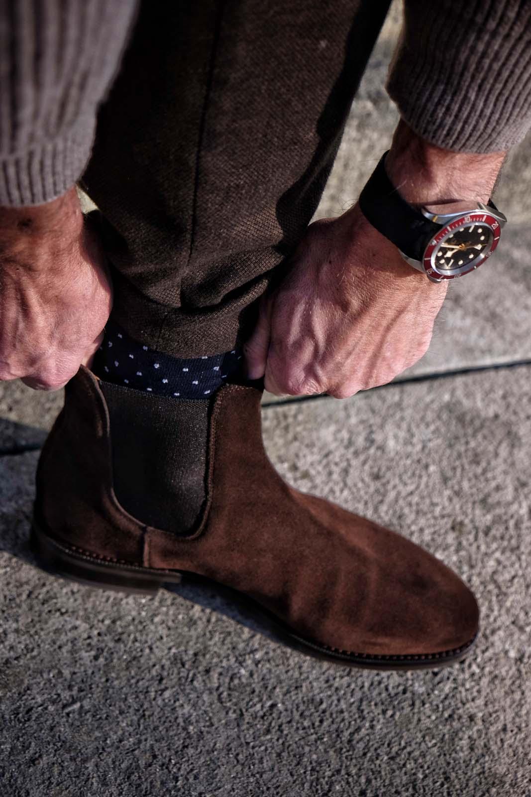 Chelsea Boots Morjas Tudor