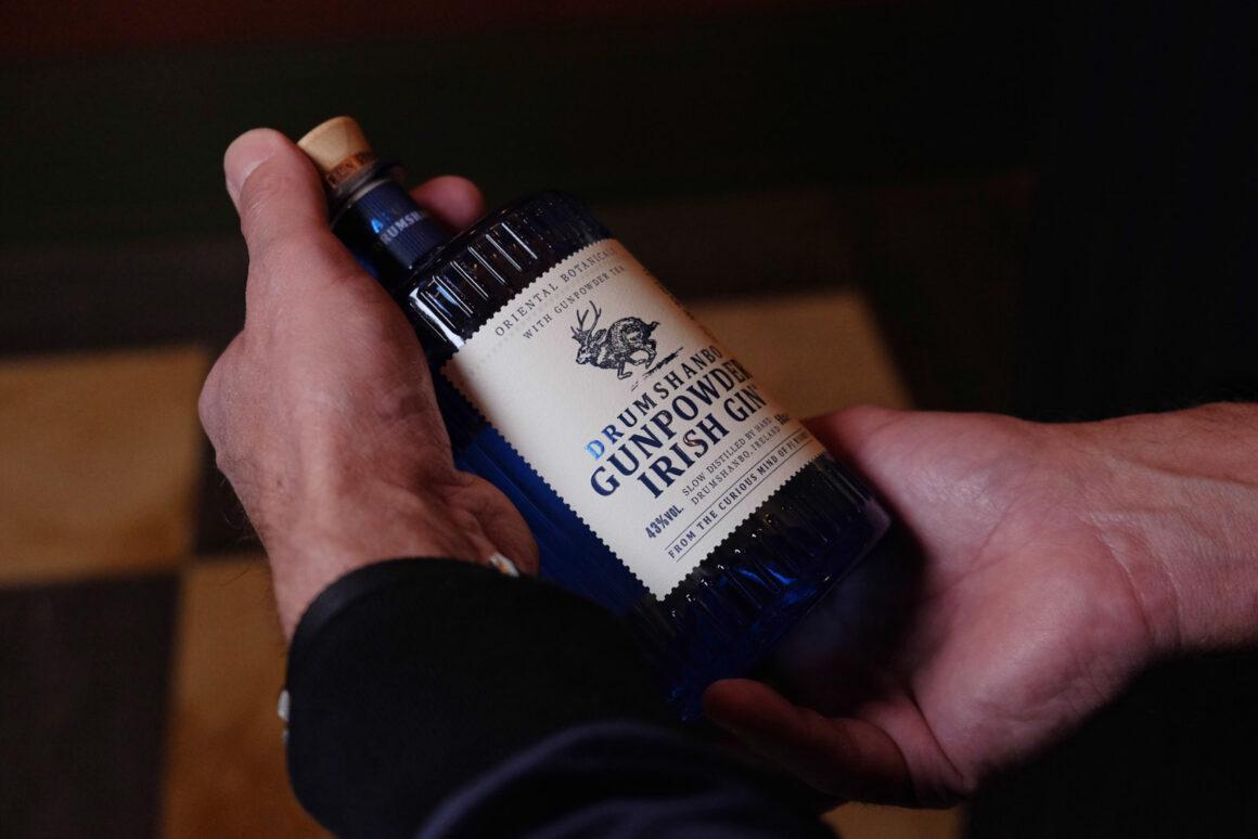 Drumshanbo Gunpowder Gin Flasche