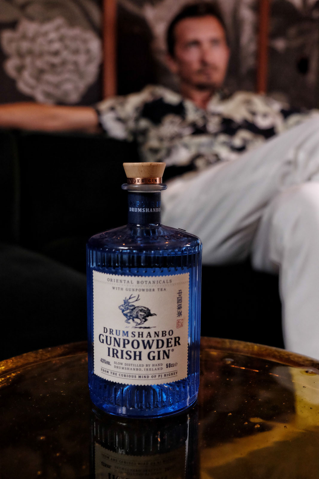 Drumshanbo Gunpowder Irish gin mood