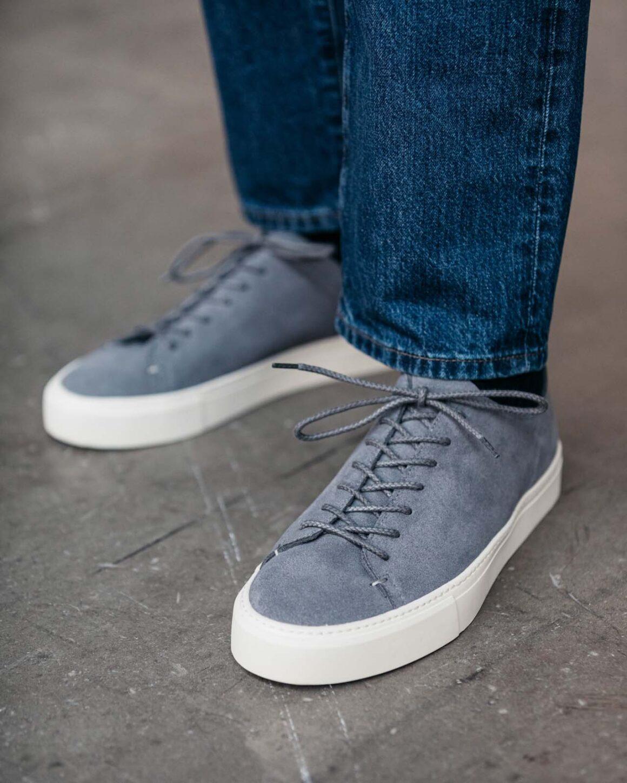 Morjas Sneaker grau
