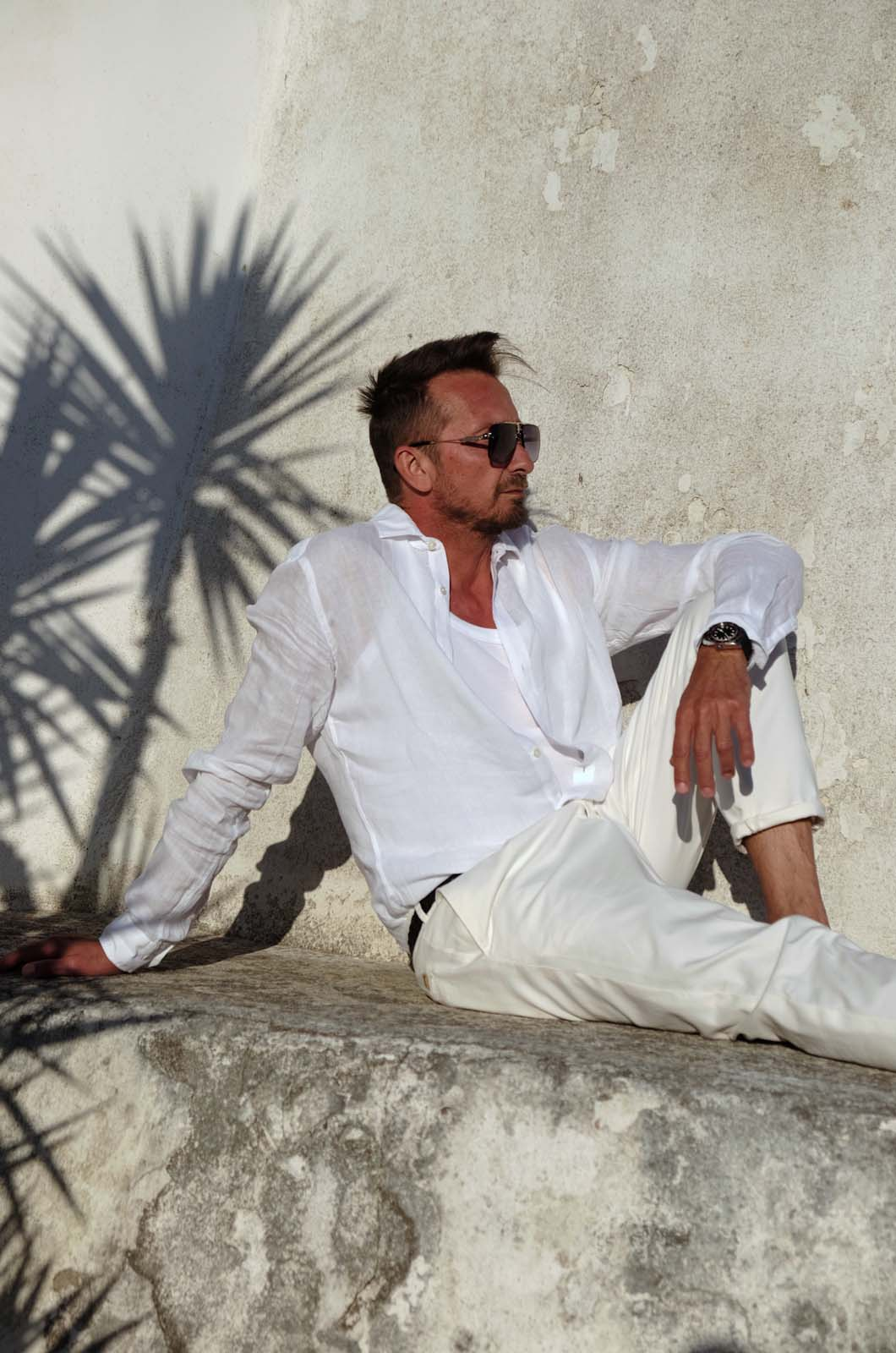 All White Outfit Dressler