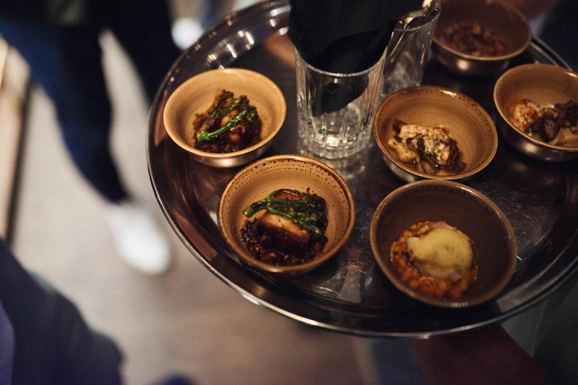 Juliet Rose Bar Food